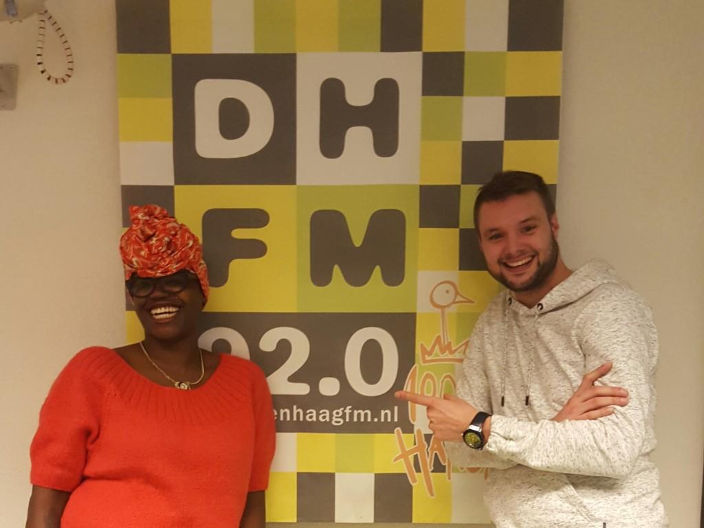 Samen met Jordy Meyster @ Den Haag FM