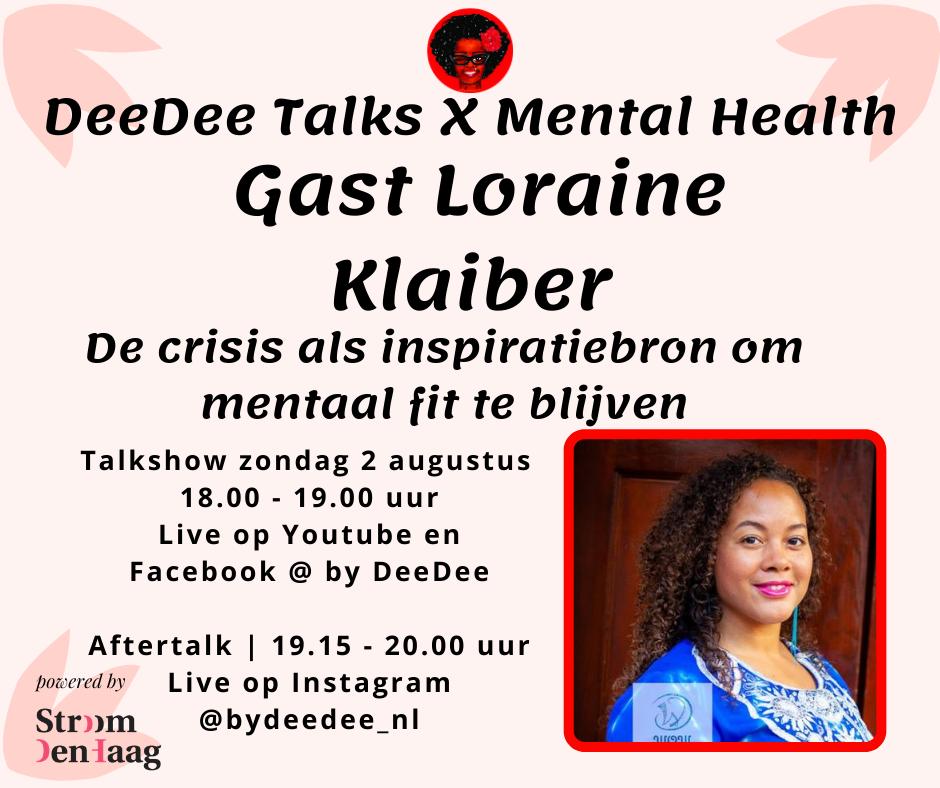 DeeDee Talks Lorraine Klaiber